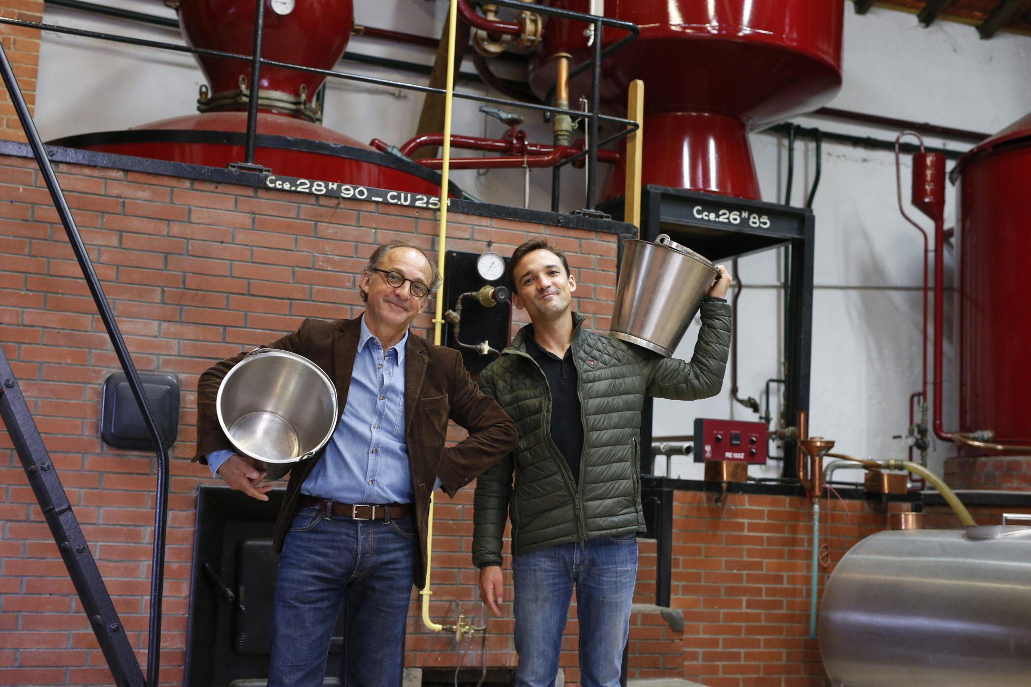 Famille Naud Jean Michel Naud distillerie cachee